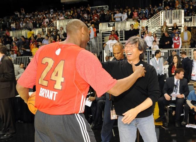 Kobe Hugging Patrick