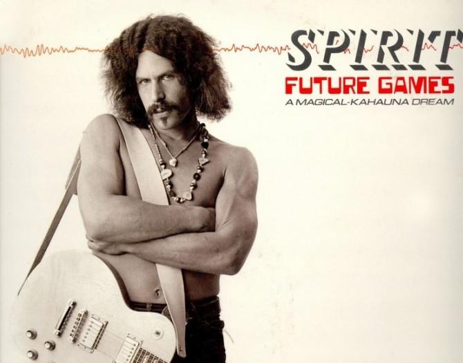 Randy California - Spirit Album Cover