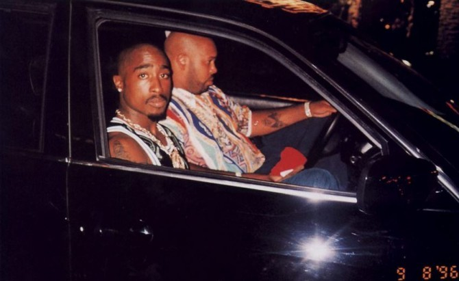 Tupac Minutes Before His Murder