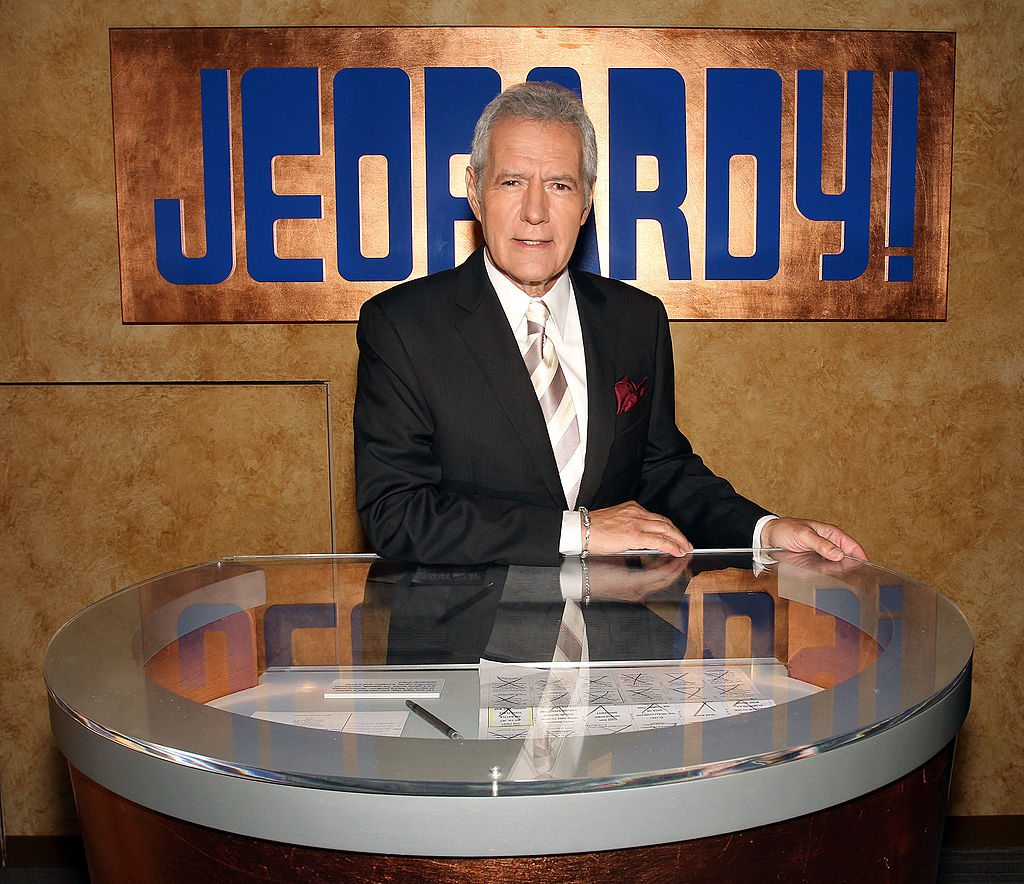 Alex Trebek - Jeopardy Host