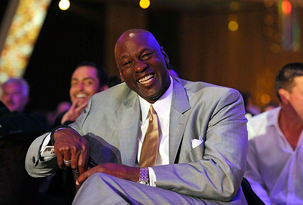 Charlotte Bobcats owner Michael Jordan