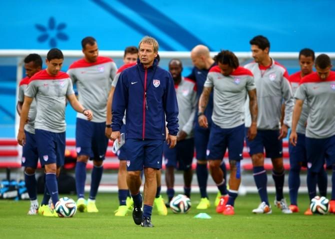 Soccer: World Cup-USA Training