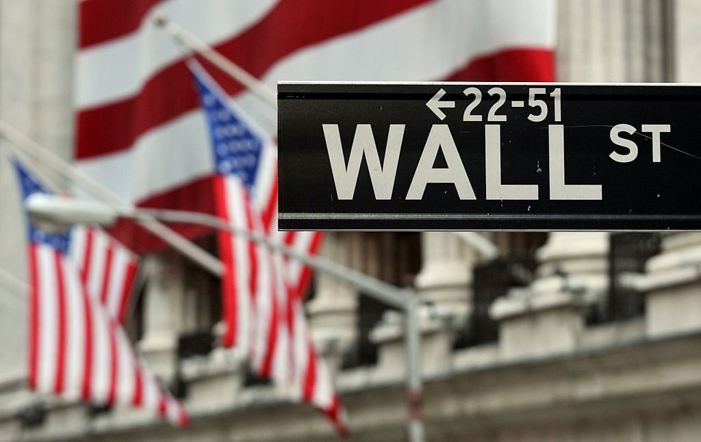 The Wall Street sign