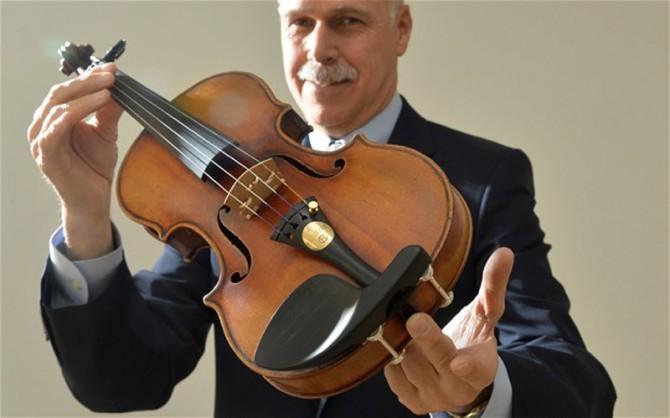 Huguette Clark's Stradivari