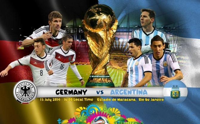 German vs Argentina