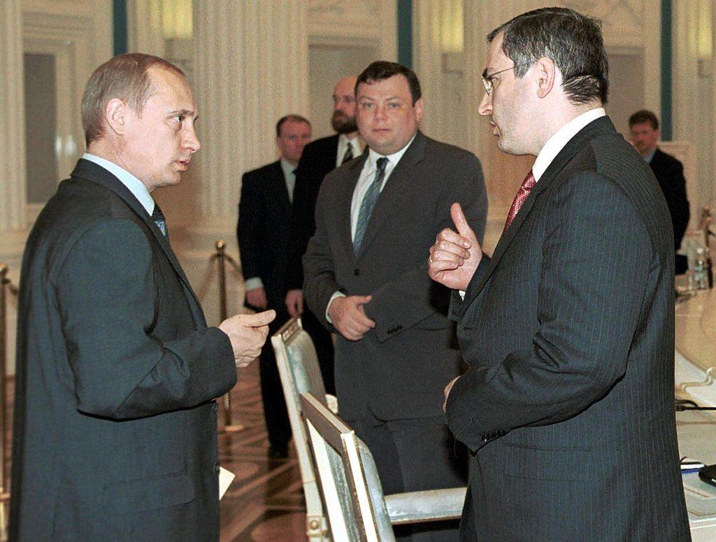 Putin and Khodorkovsky