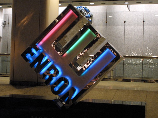 Enron On The Verge Of Collapse