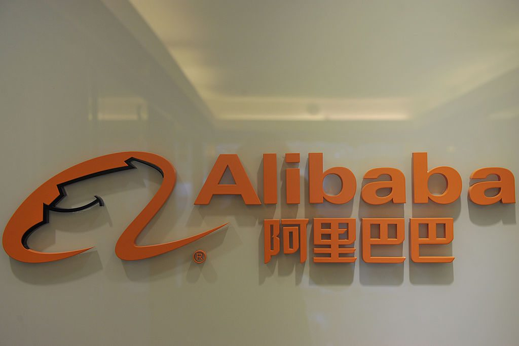 Alibaba.com/aaron tam/AFP/Getty Images