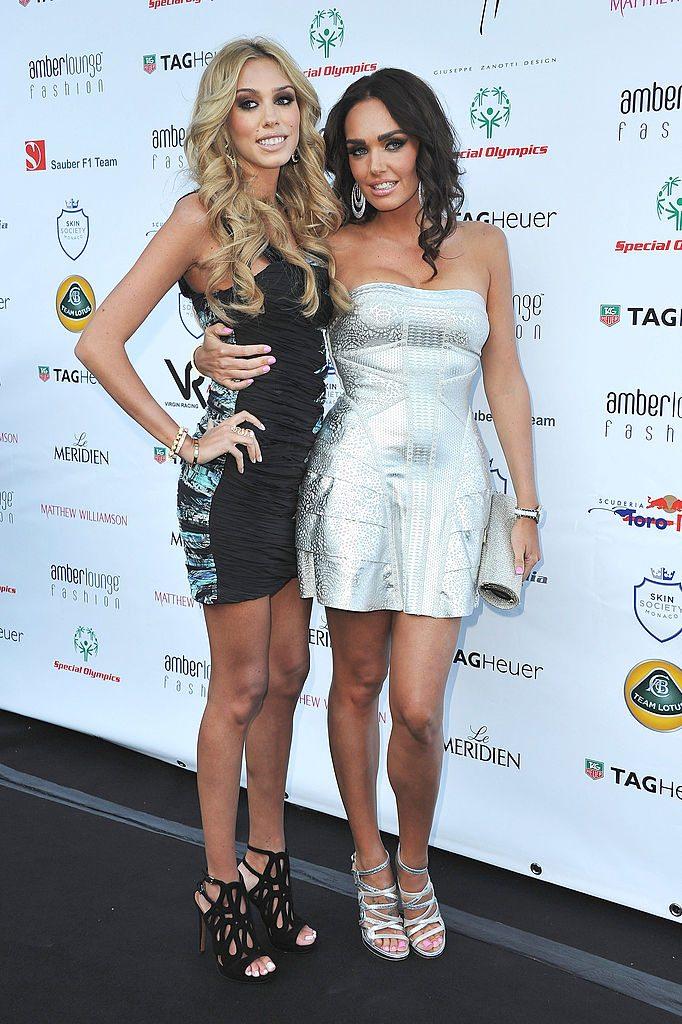 Petra and Tamara Ecclestone