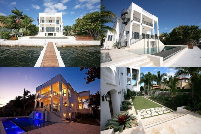 LeBron James Miami House