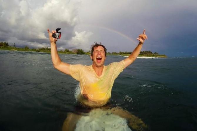 Nick Woodman Surfing