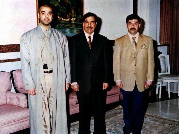 Uday, Saddam and Qusay