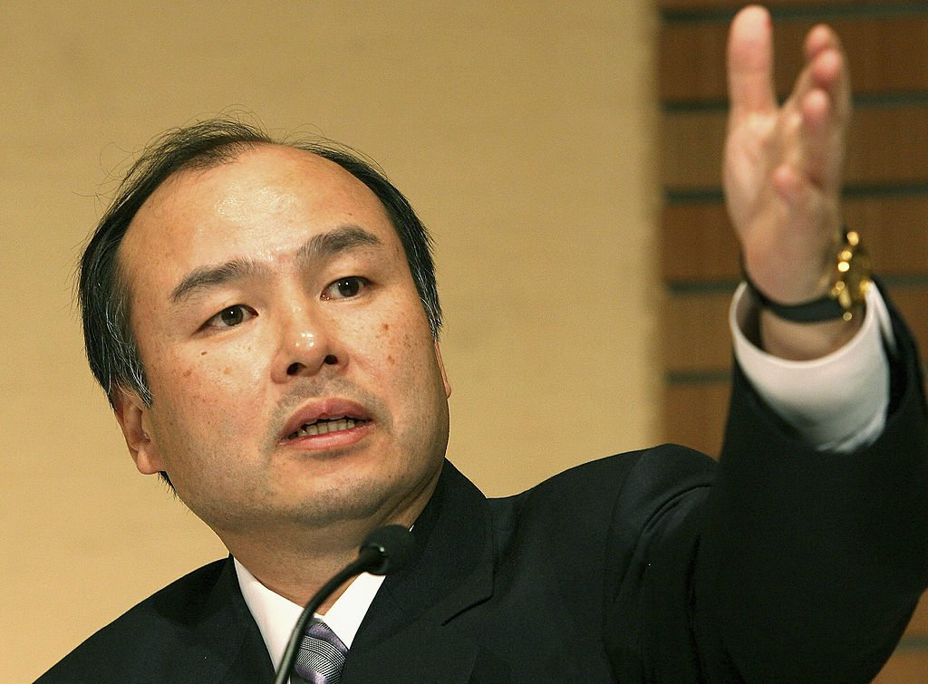 Masayoshi Son - Largest Wealth Drop Ever / Koichi Kamoshida/Getty Images