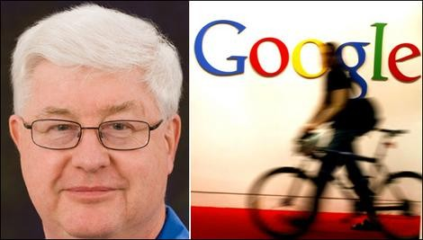 """Brian Reid (left), who was told he was not a good 'cultural fit"""" at Google."""