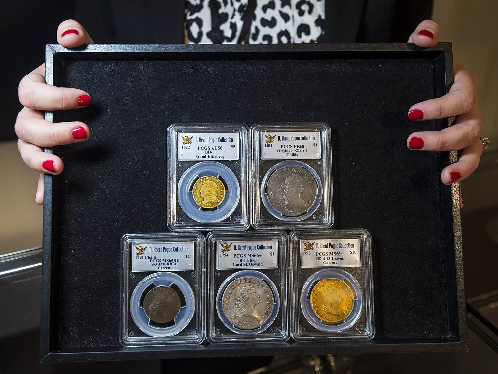 A Collection Of Just 650 Coins Is About To Sell For 220