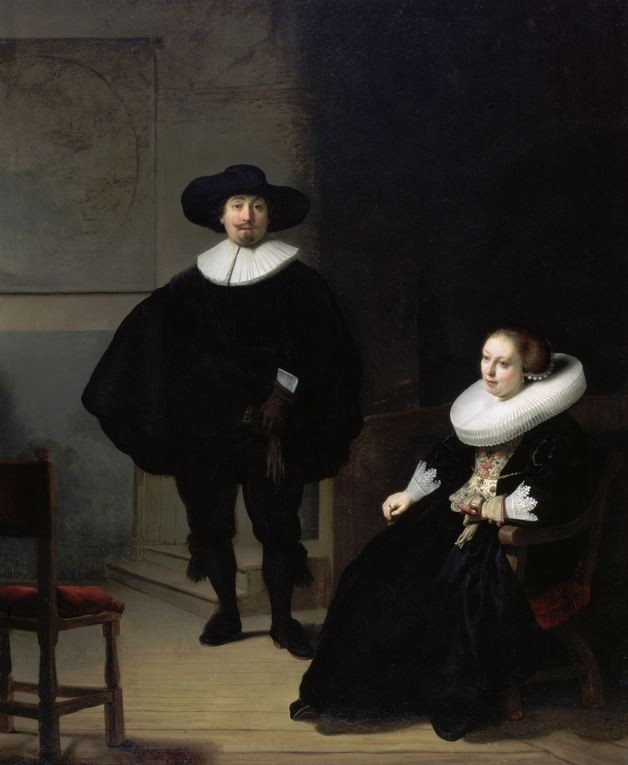 "Rembrandt's ""A Lady and Gentleman in Black"""