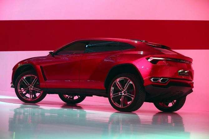 MUNICH, GERMANY - MARCH 11:  A Lamborghini Urus during a Audi group reception on March 11, 2013 in Munich, Germany.  (Photo by Alexander Hassenstein/Getty Images)