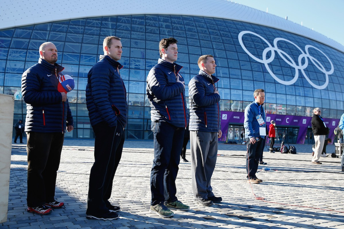 February 3, 2014 in Sochi, Russia. Photo by Getty Images.