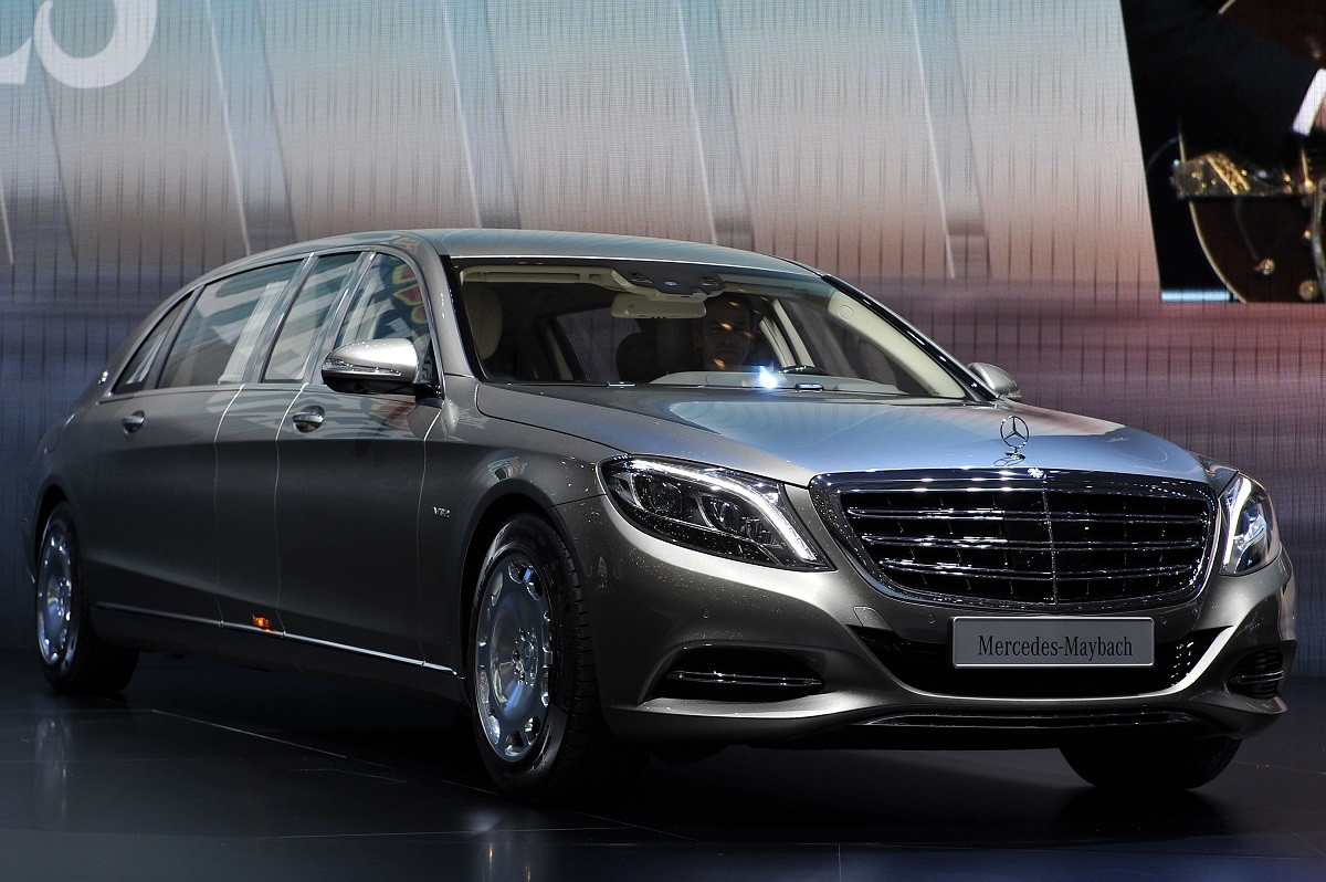 during the 85th International Motor Show on March 3, 2015 in Geneva, Switzerland. The 85th International Motor Show held from the 5th to 15th March 2015 will showcase novelties of the car industry.