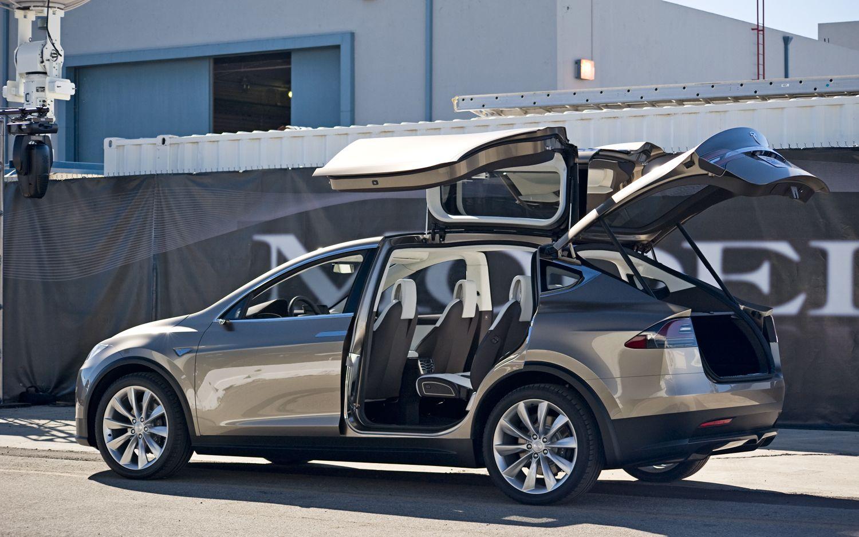 Кроссовер Tesla Model X - tesla-automobile.ru