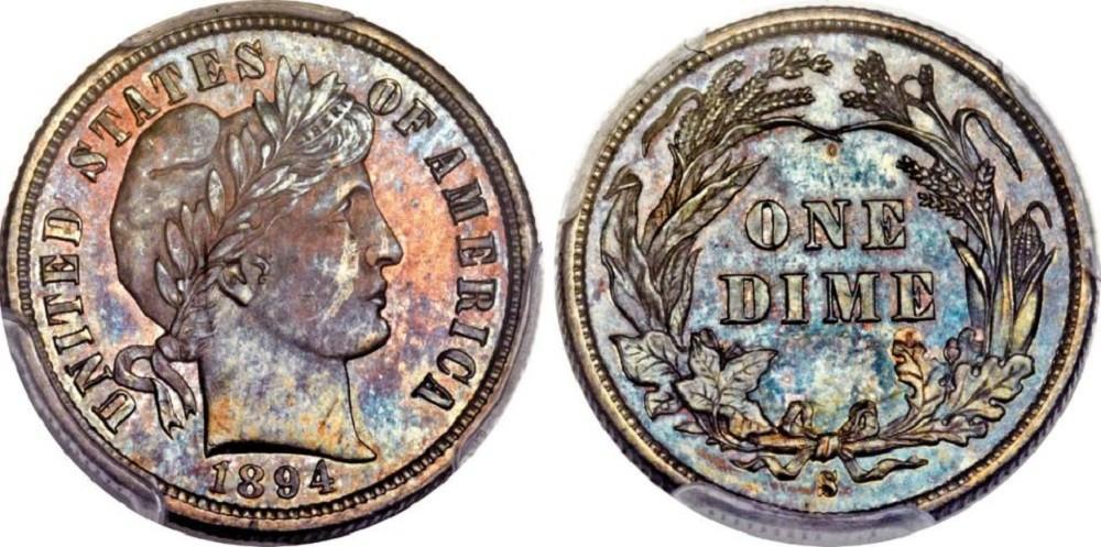 1894 Dime