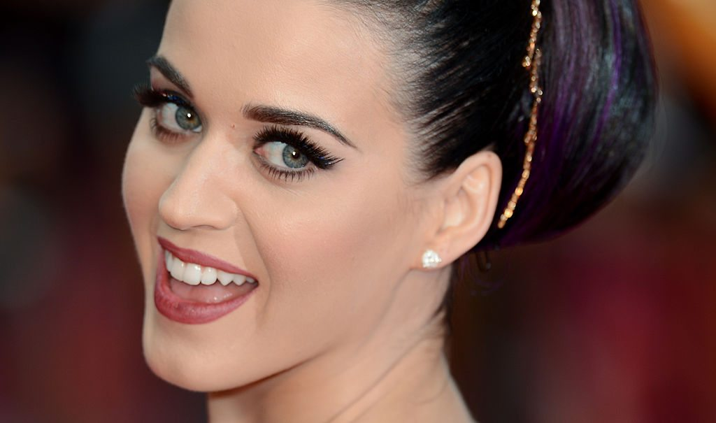 LONDON, ENGLAND - JULY 03: Katy Perry attends the European Premiere of 'Katy Perry Part Of Me' at Empire Leicester Square on July 3, 2012 in London, England. (Photo by Ian Gavan/Getty Images)
