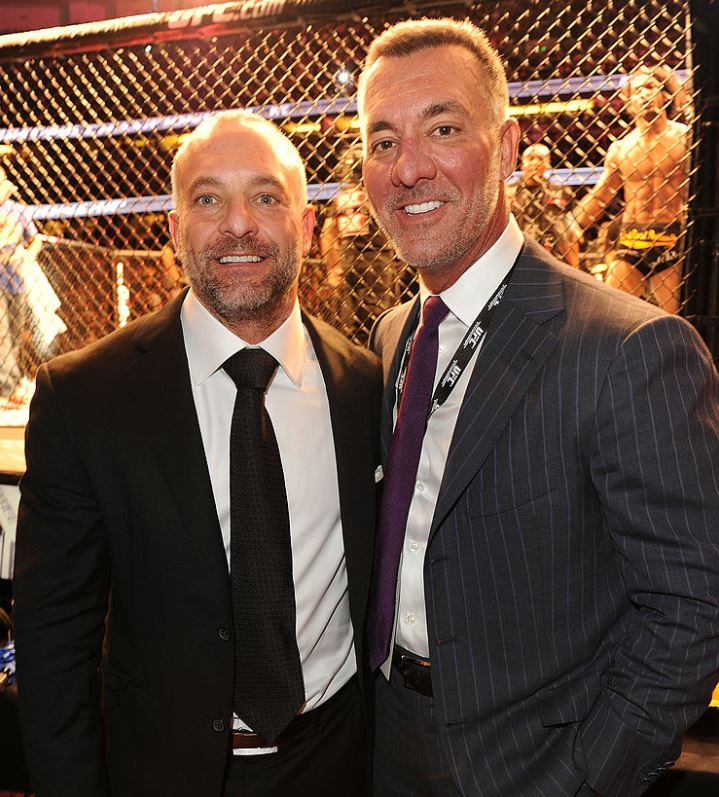 Lorenzo and Frank Fertitta (via Getty)