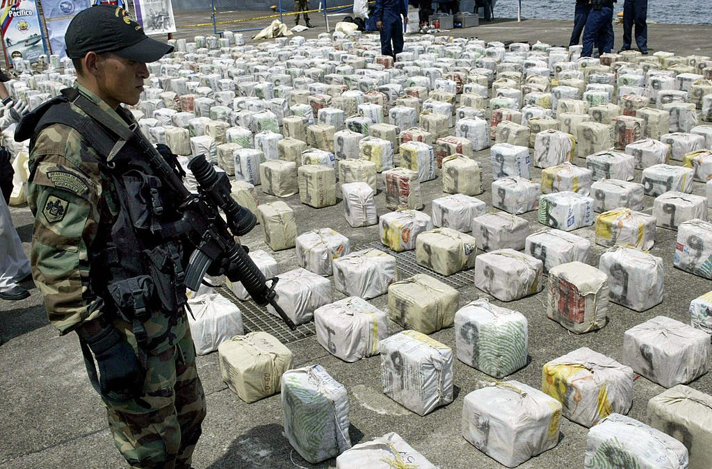 columbia in the grasp of drugs Colombia destroys 104 cocaine labs in five days as part of crackdown on drug production.