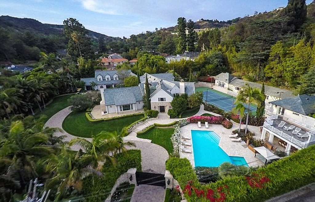 Mariah Carey's Beverly Hills Mansion