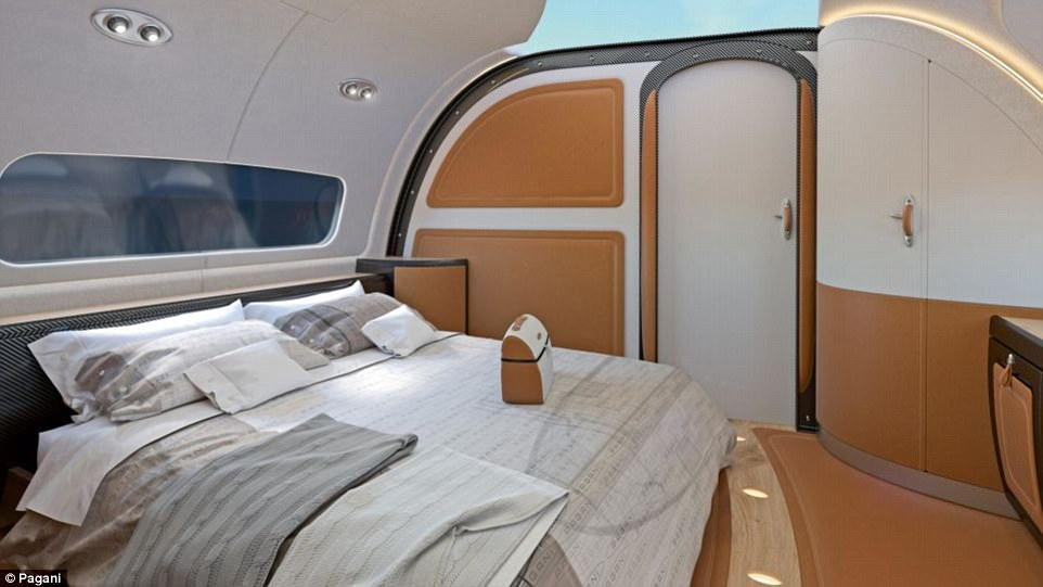 Inside The 100 Million ACJ319neo Infinito Private Jet From Airbus And Pagani