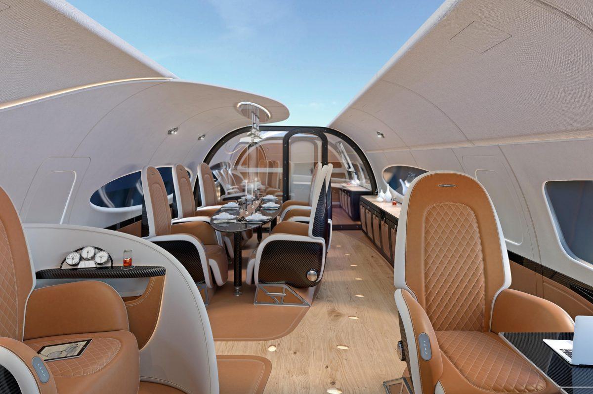inside the  100 million acj319neo infinito private jet Luxury Car Interior Muscle Car Interior