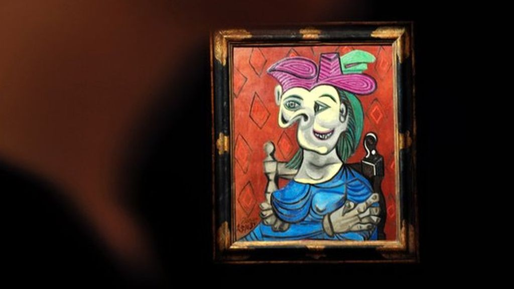 Nazi seized picasso painting sells for 45m celebrity for How much is my painting worth