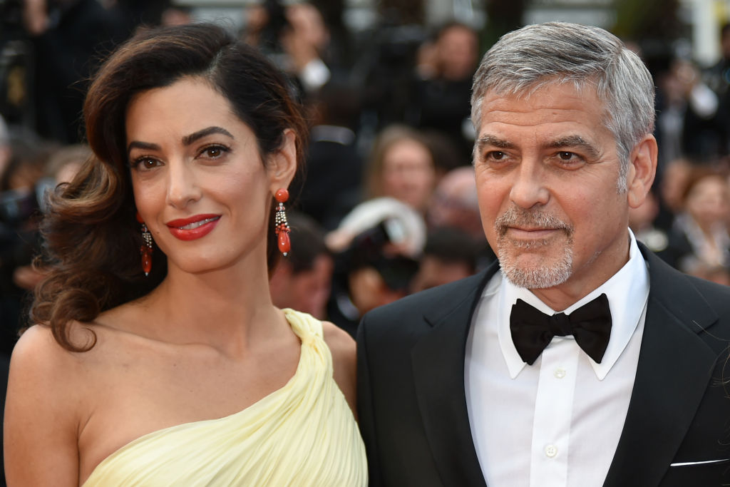 George & Amal Clooney And Tim Cook Both Donate Big Sums ...