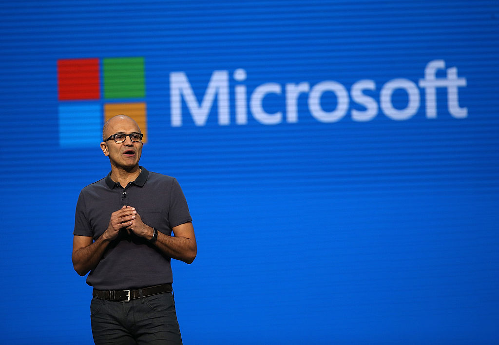 Take A Peek At Microsoft CEO Satya Nadella's Paycheck | Celebrity