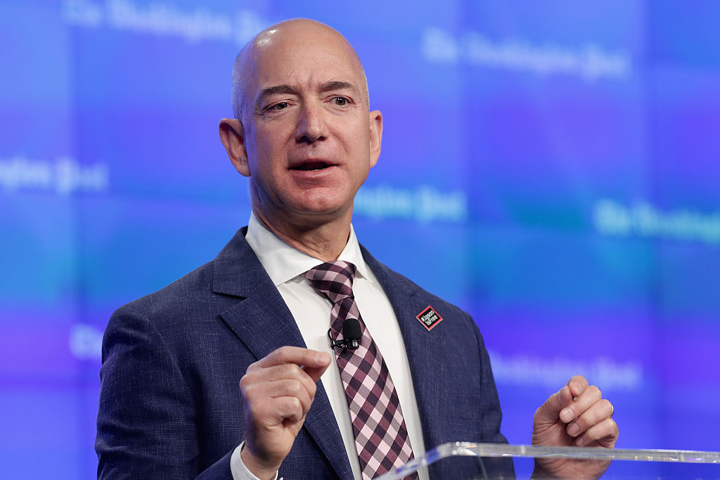 Amazon's Bezos sees wealth top $100bn amid Black Friday boost