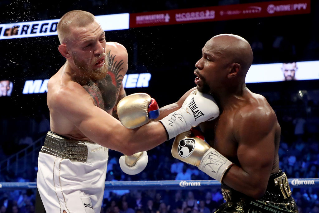 Mayweather v McGregor falls short of PPV record