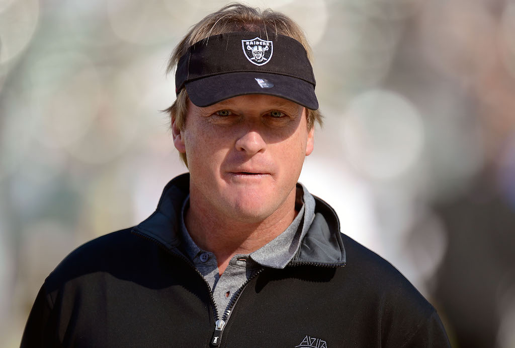 All signs point to Jon Gruden as next Raiders coach, report says