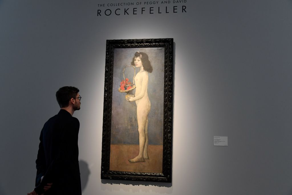Pablo Picasso painting pulled from auction after being 'accidentally damaged'