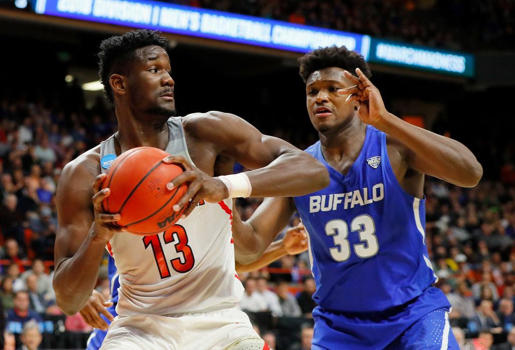National Basketball Association draft -- Phoenix Suns select Deandre Ayton at No. 1
