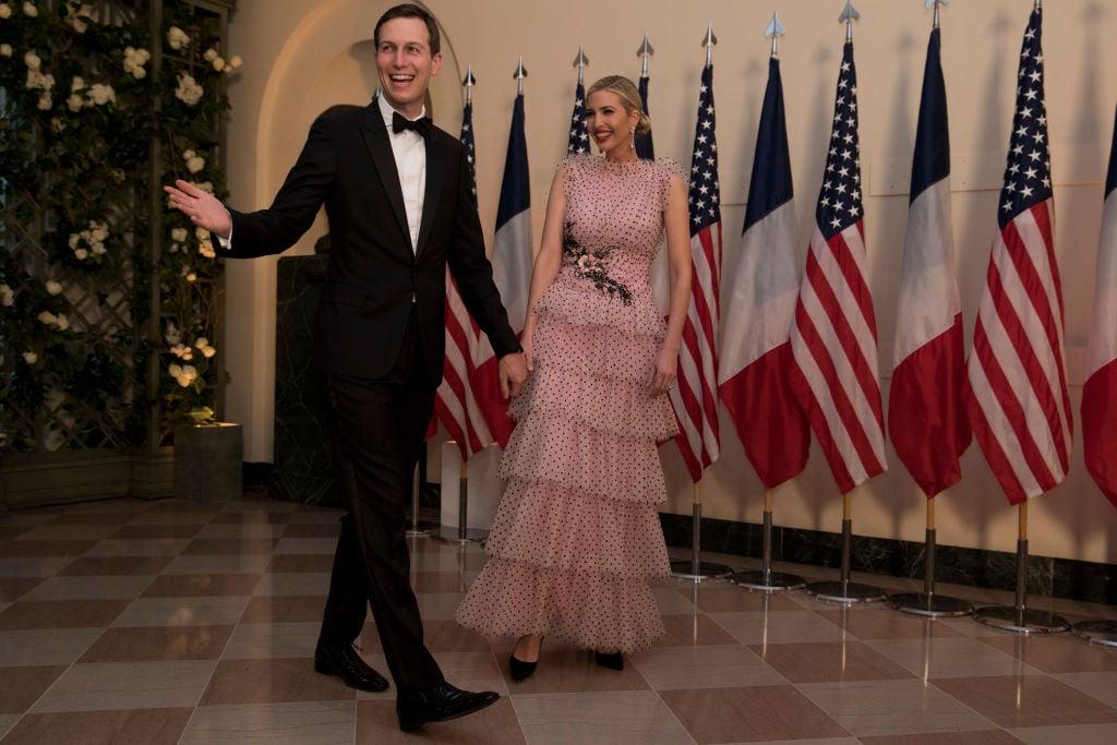 Ivanka Trump, Jared Kushner made $82 million a year ago