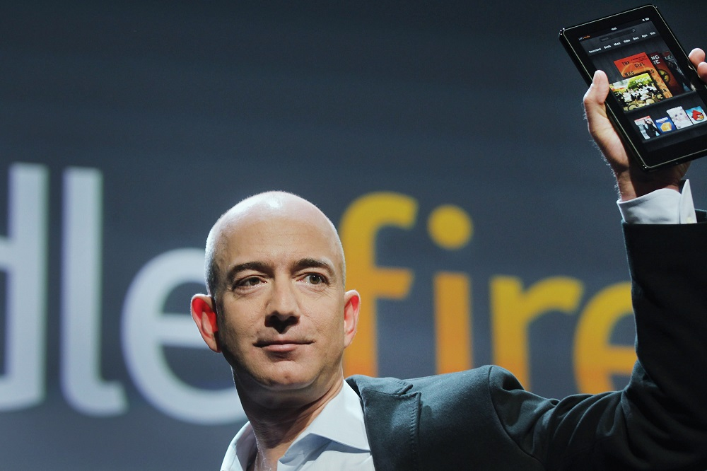 As Amazon slashes prices, Bezos sees jump in wealth