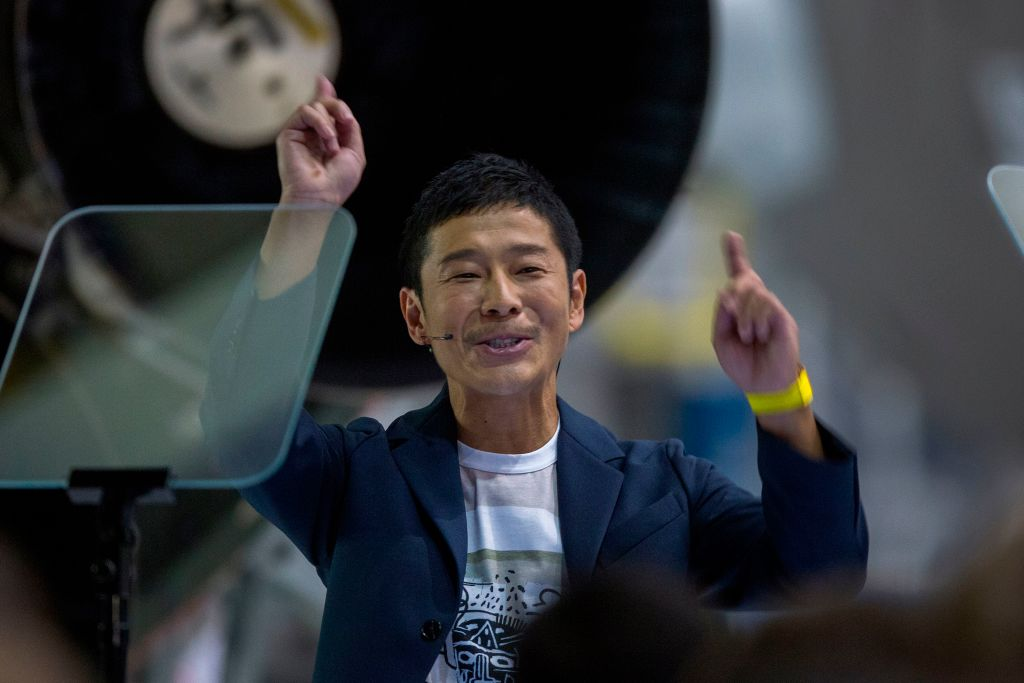 Japanese businessman to become first private moon tourist
