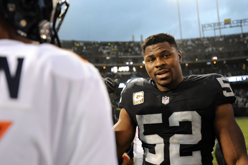 Raiders ducked Rams' Khalil Mack trade offer with Week 1 in mind