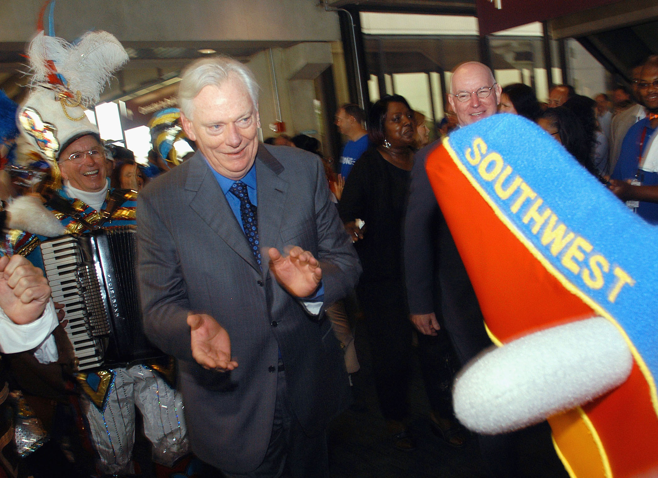 Herb Kelleher Legendary Billionaire Co Founder Of