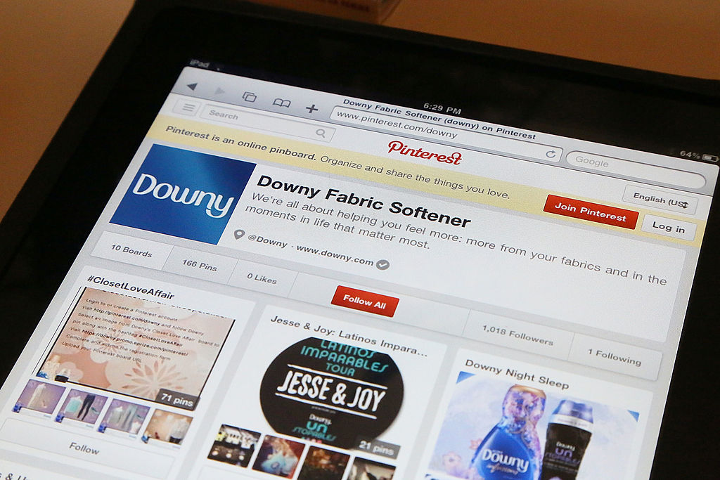 Pinterest raises US$1.4 billion in IPO