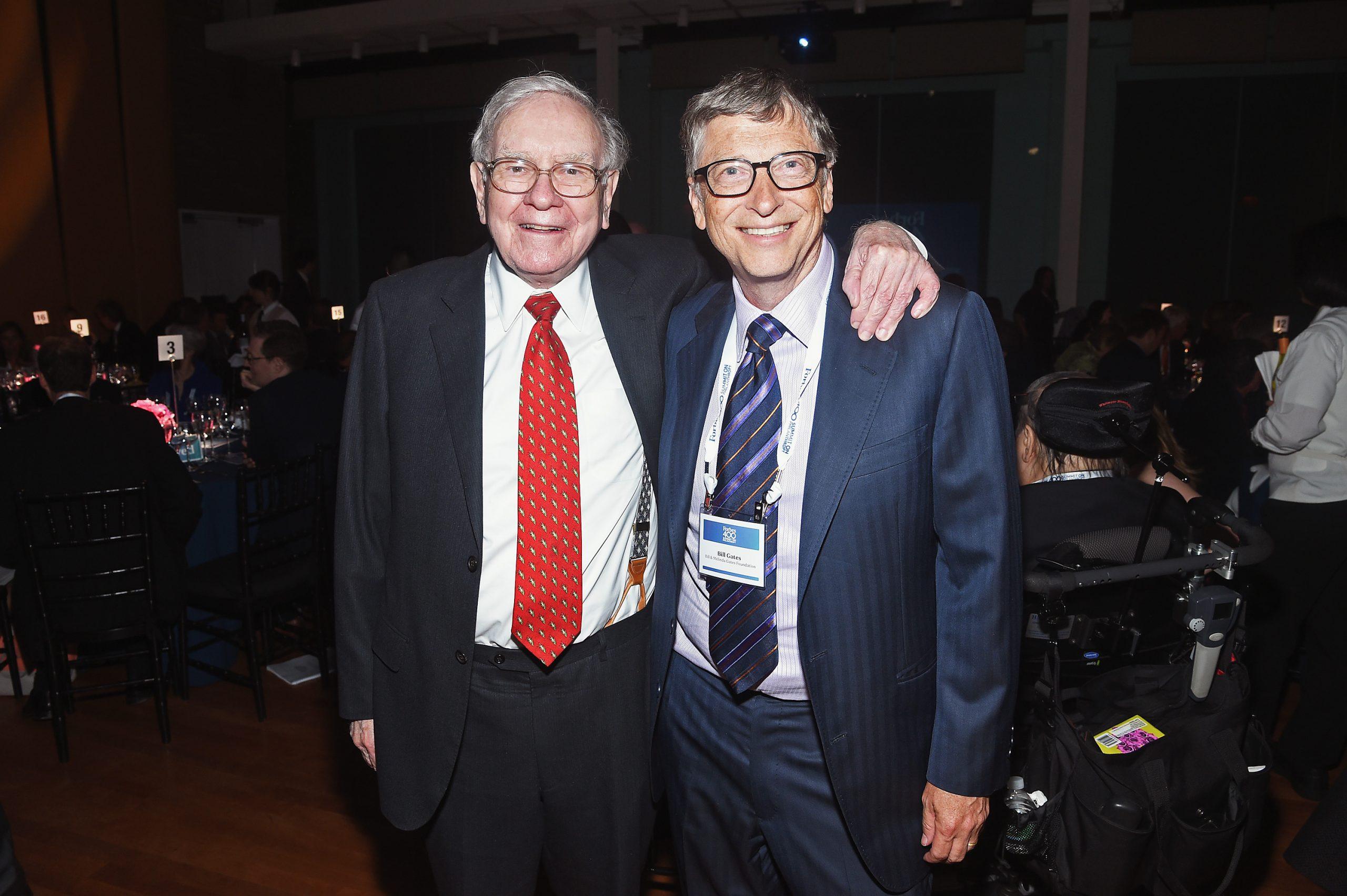 Warren Buffett and Bill Gates - Top 30 Richest People